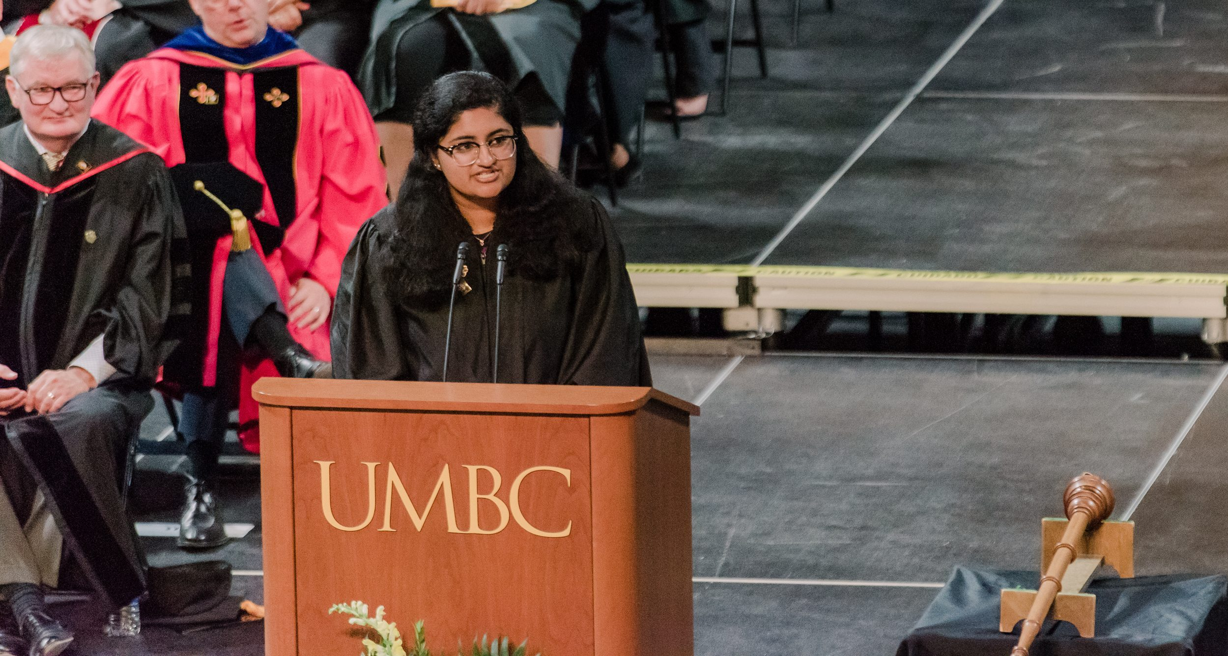 SGA President Vrinda Deshpande Addresses the Incoming Class of 2023